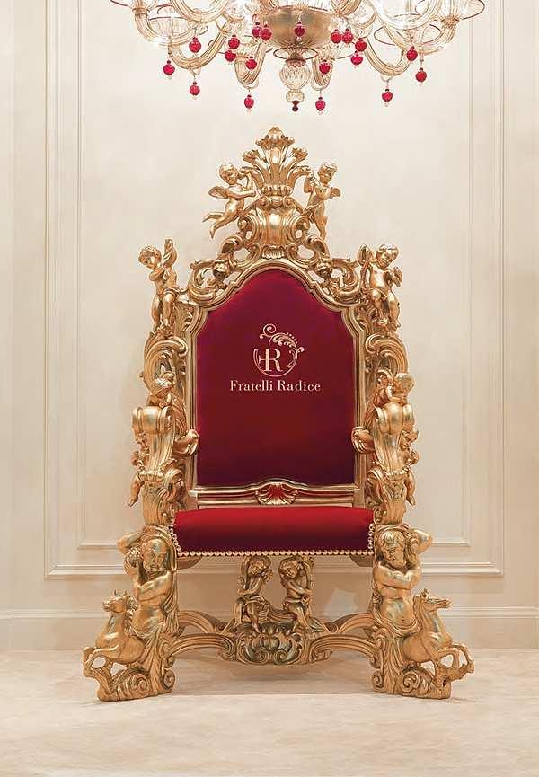 Кресло FRATELLI RADICE Модель 011 Продукт трон