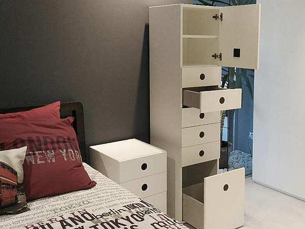 Кровать Fimar Feel con contenitore sospeso